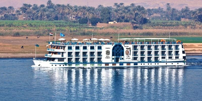 Cruzeiro pelo rio Nilo (MS Sonesta Moon Goddess)