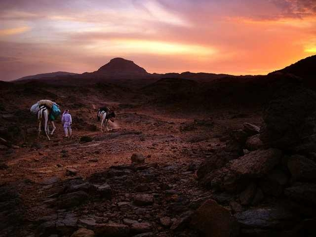 Mount Sinai by Sunset