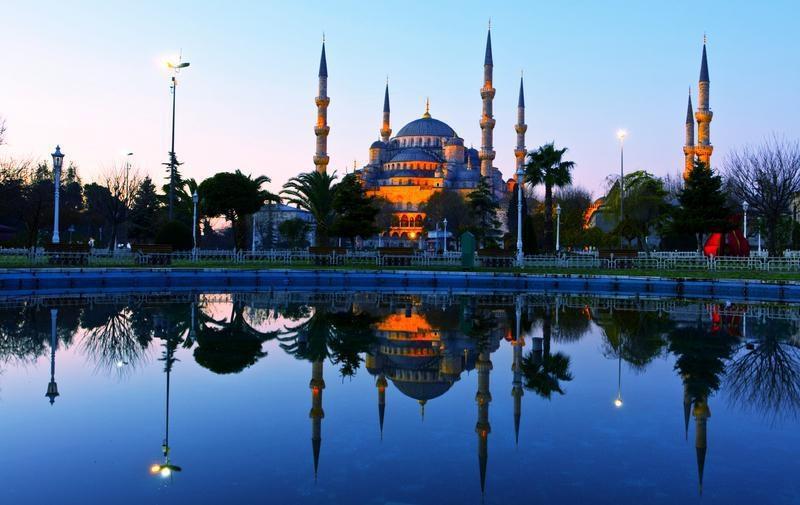 La Mezquita Azul, Turquía.