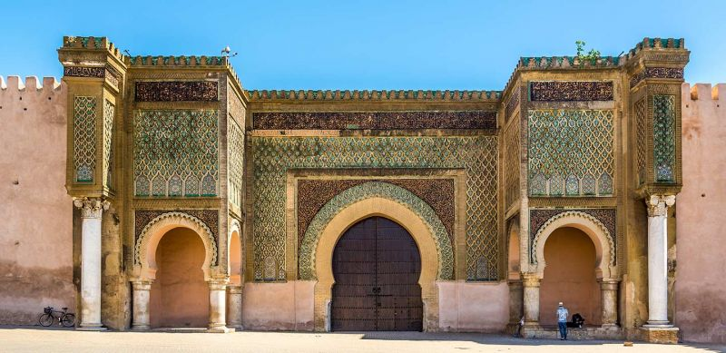 The Gate (Bab) of Mansour