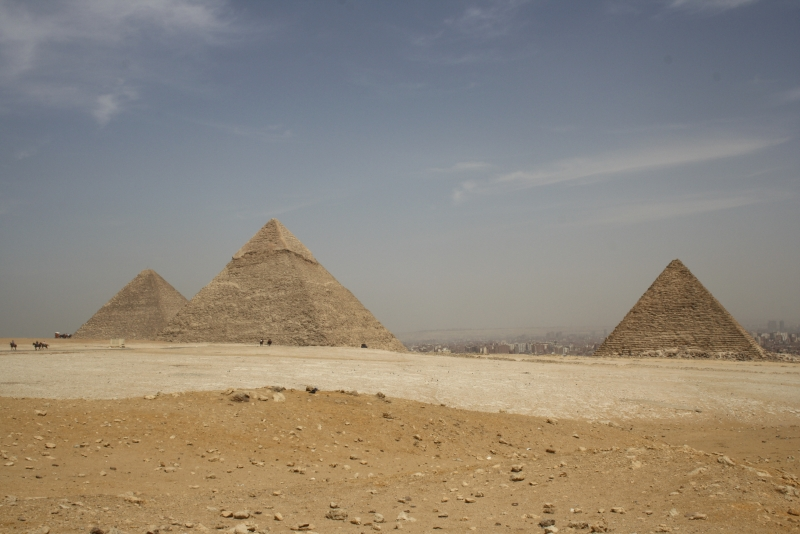 Giza Pyramids in Egypt