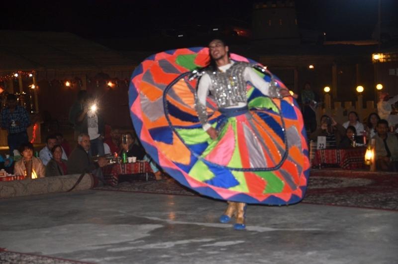 Tanoura Dance in Dubai Desert