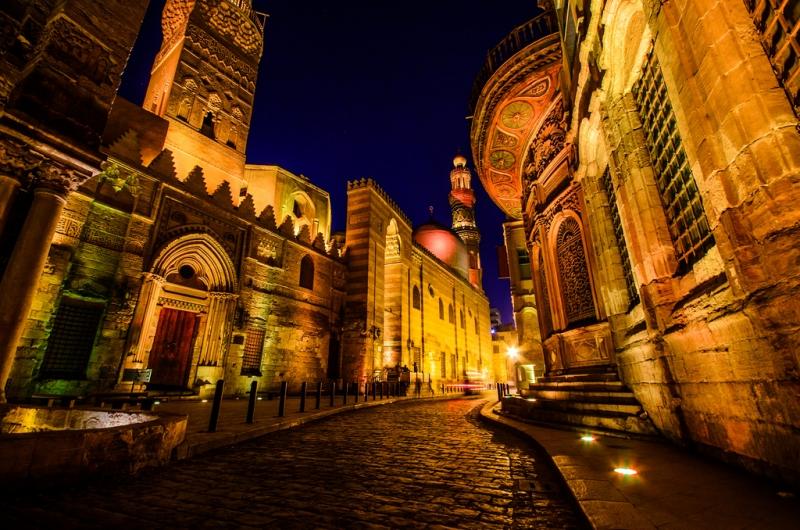The famous Moez Street, Cairo