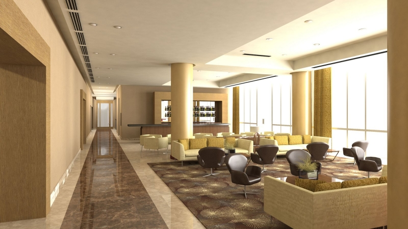 Le Meridien Cairo Airport Lobby Lounge