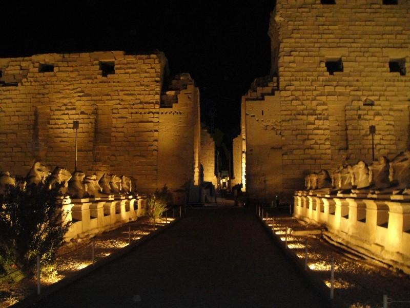 Suoni e Luci ai Templi di Karnak