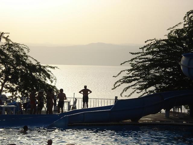 El Mar Muerto,Jordania