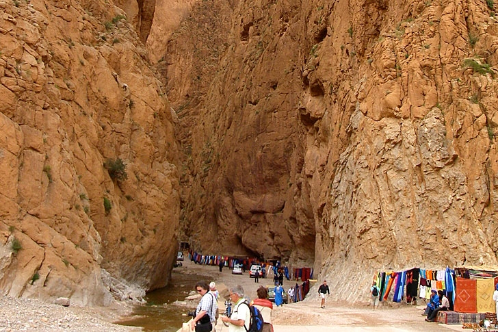 Todra Canyons in Tinghir