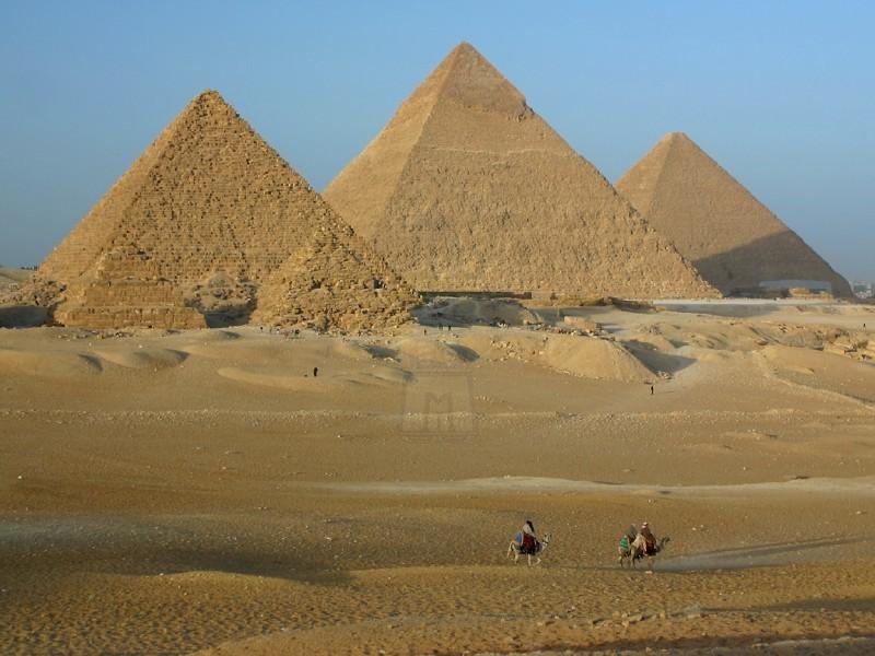 Ás Pirâmides de Guizé