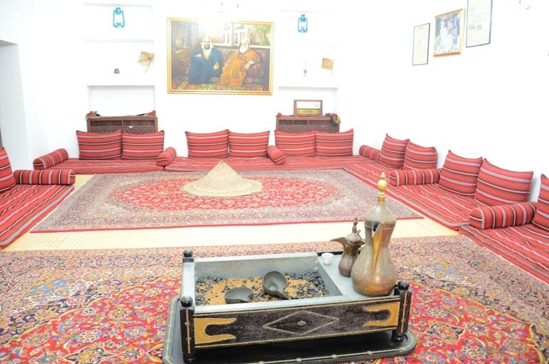 Inside Al Ain Palace Museum