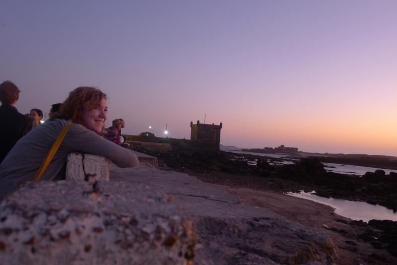 Enjoy atmosphere in Essaouira