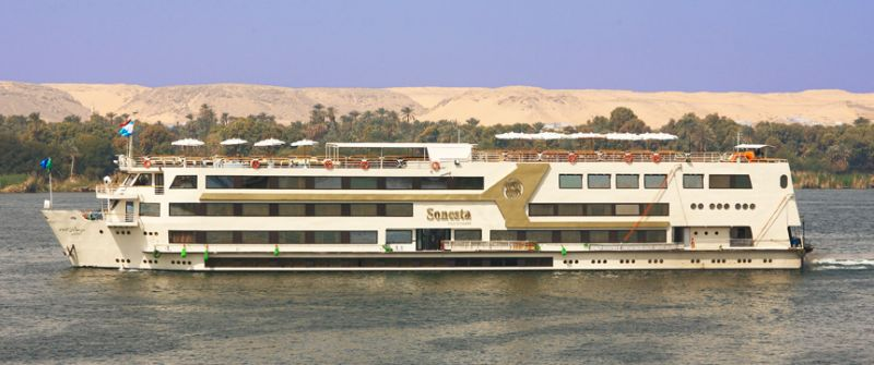 Crucero Egipto Nilo (MS Sonesta Nile Goddess)