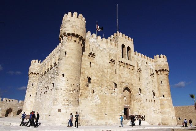 Qaitbey Fortress in Alexandria
