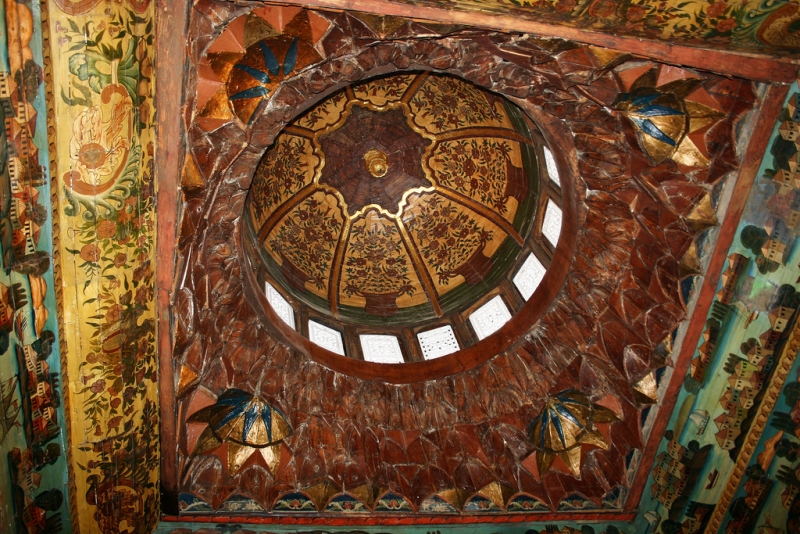 The Coptic Museum Dome Decorations