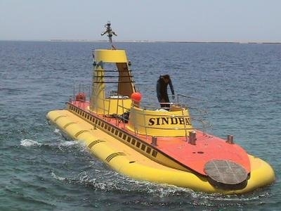 U Boot in Sharm El-Shiekh