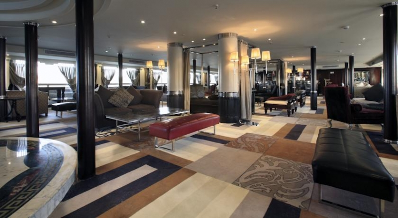 Deluxe Movenpick MS Hamees Nile Cruise Lobby