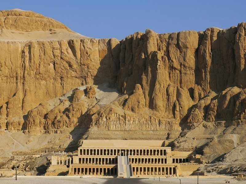 templo da Hatshepsut, Luxor