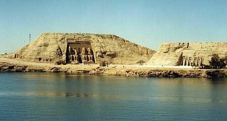 Abu Simbel on lake Nasser