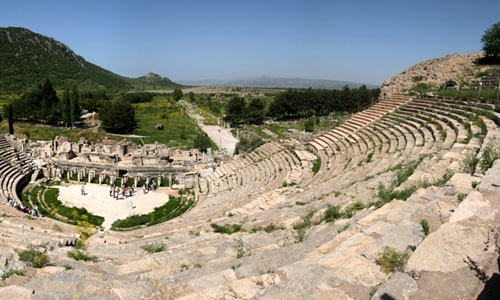 Ephesus Theater Turkey