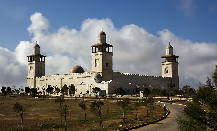 King Hussein Mosque in Amman