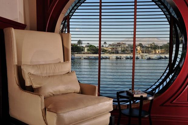 MS Mayfair Nile Cruise Lounge