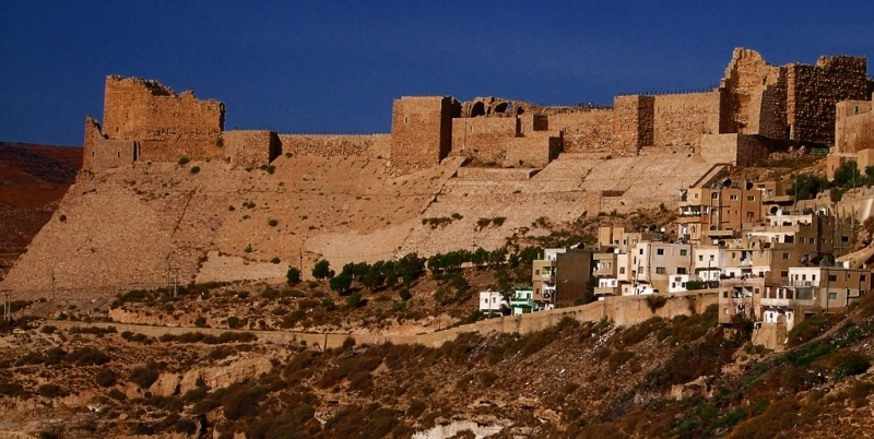 Crusader Castle at Kerak  Kerak Castle