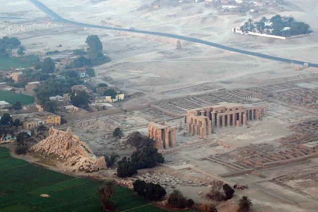 The Ramesseum Panoramic View