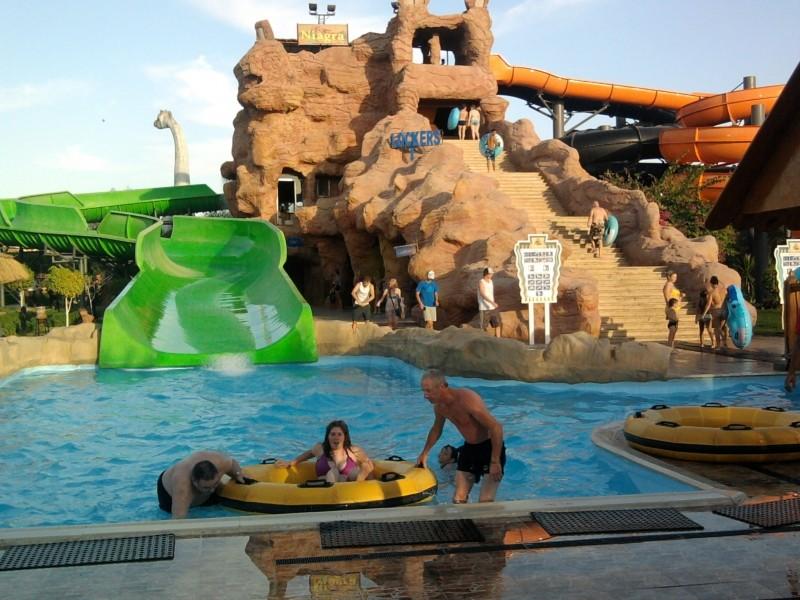 Аквапарк в Шарм-эль-Шейхе