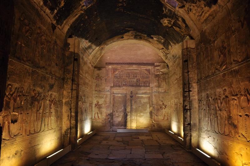 Inside Abydos Temple, Upper Egypt