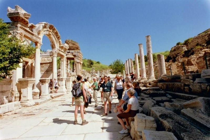 Curetes Street in Ephesus