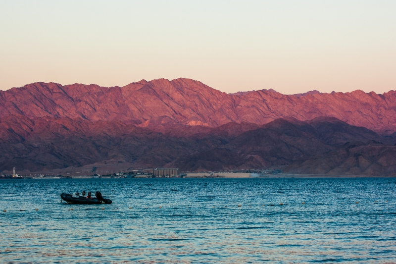 Beautiful View of Aqaba Shore