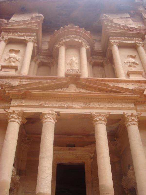 The Treasury of Petra, Jordan