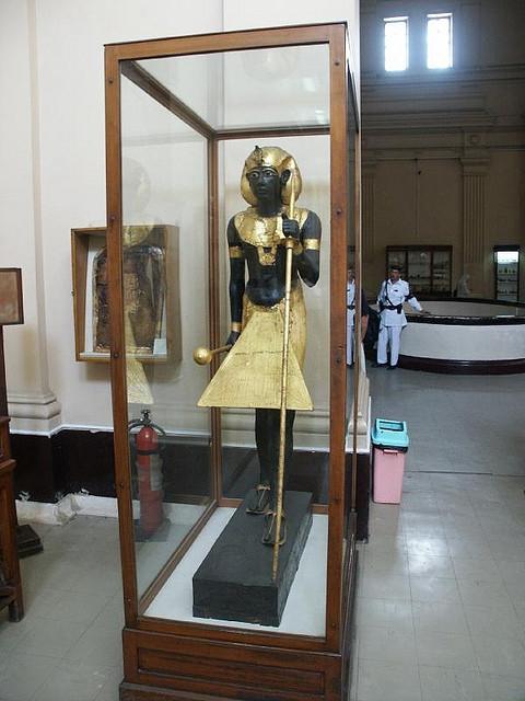 Tutankhamun's Guardian Statue