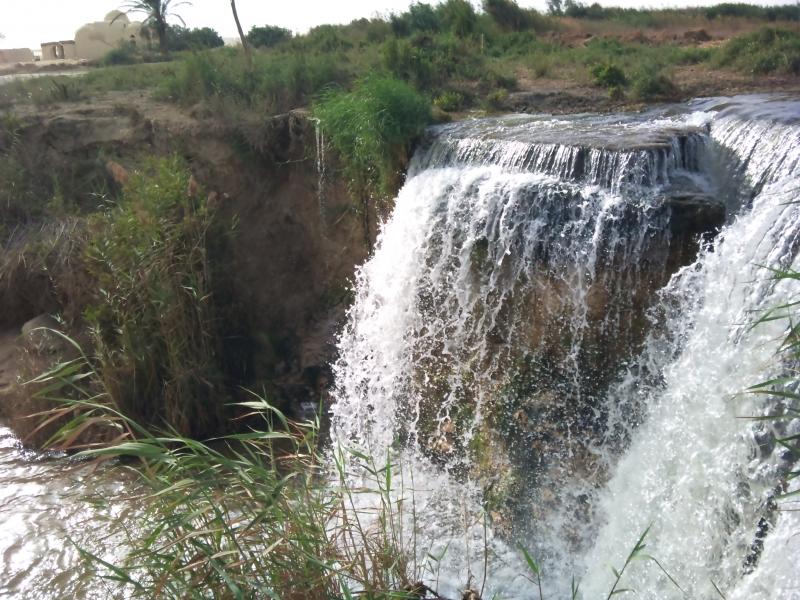 Fayoum Waterfalls at Wadi El Rayan