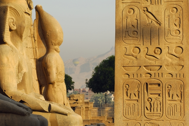 Luxor Temple in Upper Egypt