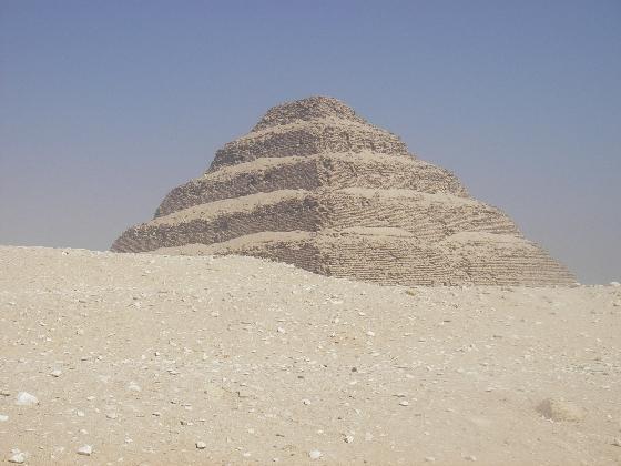 Saqqara Step Pyramid, Giza