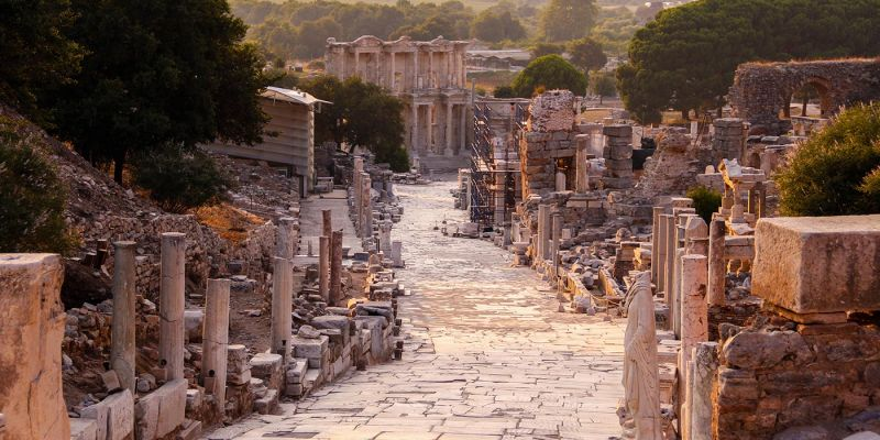Ephesus in Turkey | The Ancient Ruins of Ephesus