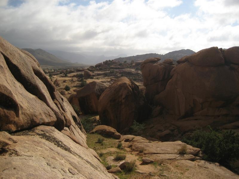 Formação de rocha, Tafraoute