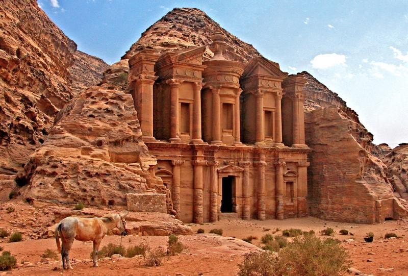 The Monastery (El Deir) in Petra