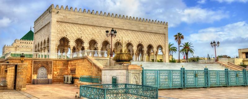 The Mohammed V Mausoleum