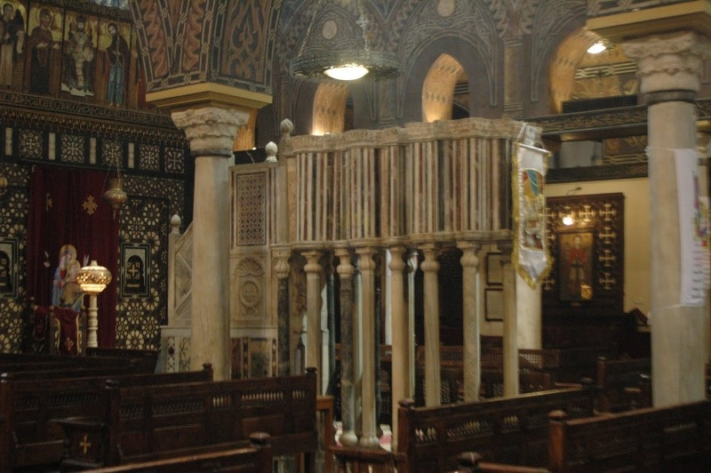 Pulpit Inside The Hanging Church