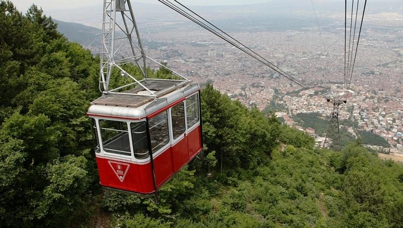 Téléphérique pour Uludag, Bursa