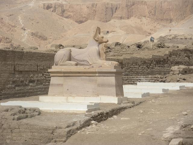Anubis Sphix, The Ramesseum