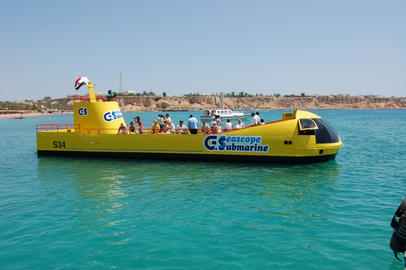 U Boot in Sharm Elsheikh