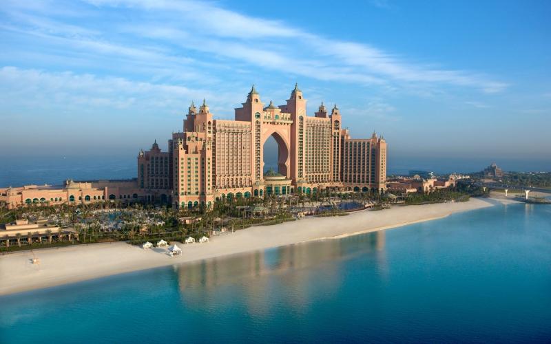 Hôtel Atlantis sur Palm Jumeirah