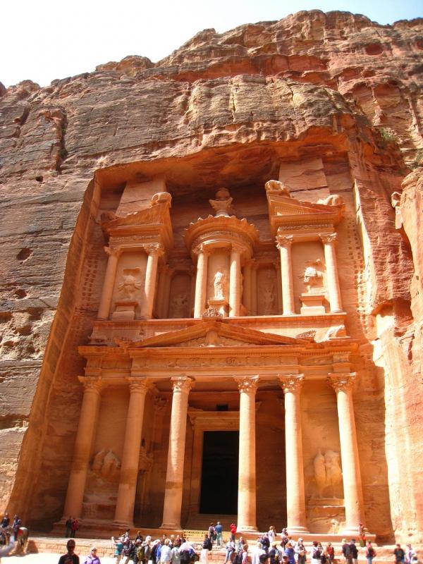 The Treasury (El Khazneh) in Petra