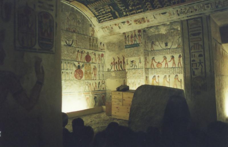Inside Tomb of Ramesses IV