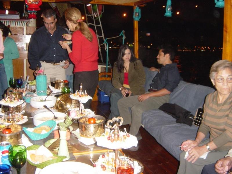 Nefertari Felucca Dinner