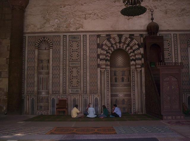 Al Azhar Mosque from Inside