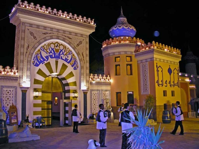 Шоу «Тысяча и одна ночь» в Хургаде