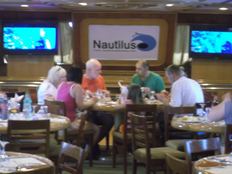 Nautilus Cruise from inside, Sharm El sheikh